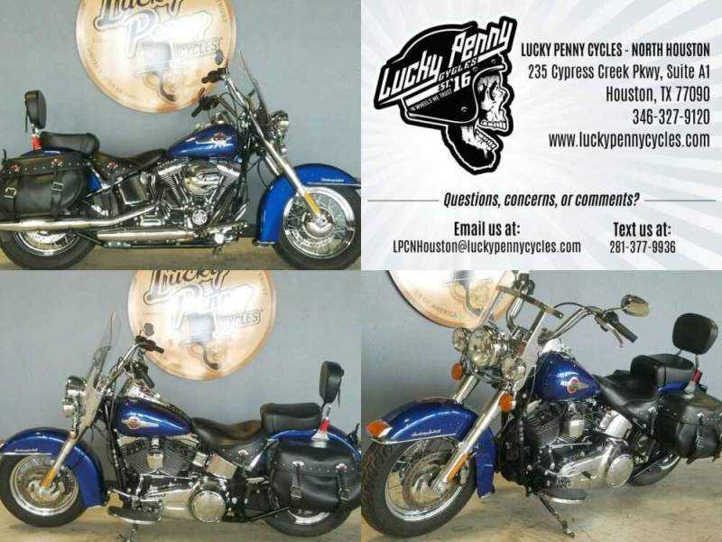 2017 Harley-Davidson Softail Heritage Classic Blue for sale craigslist photo