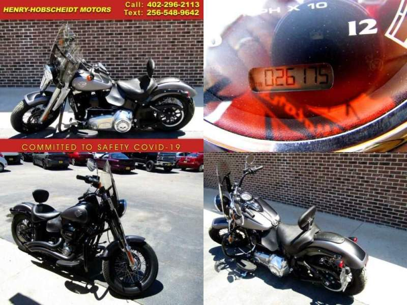 2017 Harley-Davidson Softail Slim Blk/Gry for sale craigslist