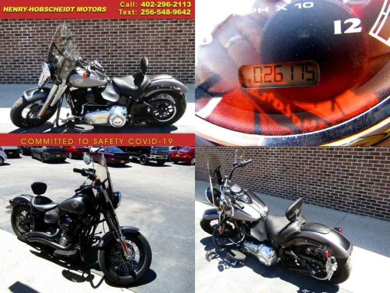 2017 Harley-Davidson Softail Slim Blk/Gry for sale craigslist photo