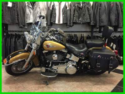 2017 Harley-Davidson Softail FLSTC103 - HERITAGE BLACK HILLS GOLD/BLACK QUARTZ for sale