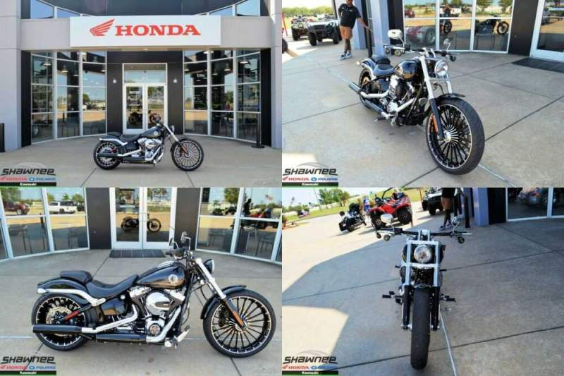 2017 Harley-Davidson Softail Black for sale craigslist photo