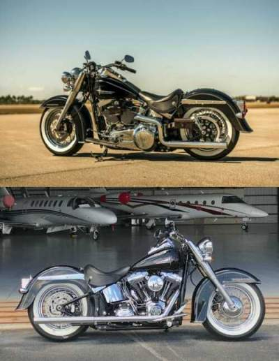 2017 Harley-Davidson Softail Deluxe Black for sale craigslist photo