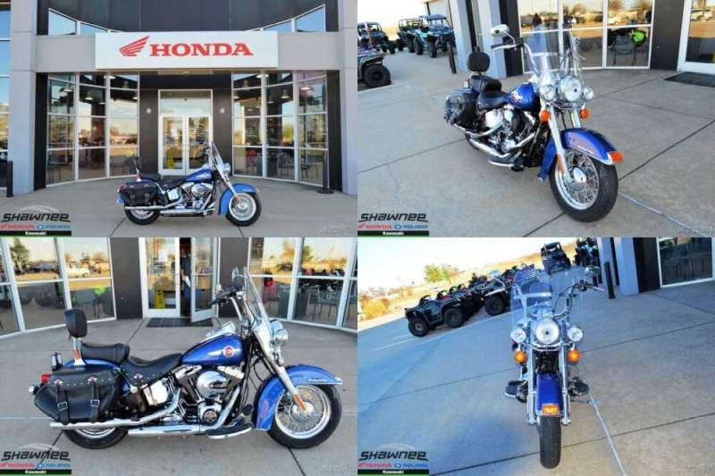 2017 Harley-Davidson Softail Heritage Softail Classic Blue for sale craigslist photo