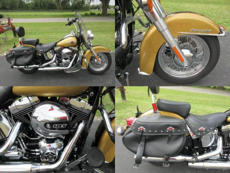 2017 Harley-Davidson Softail Heritage Softail® Classic Gold for sale craigslist photo
