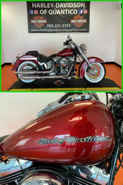 2017 Harley-Davidson Softail Deluxe Velocity Red Sunglo for sale craigslist photo