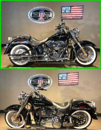2017 Harley-Davidson Softail Softail® Deluxe Vivid Black for sale
