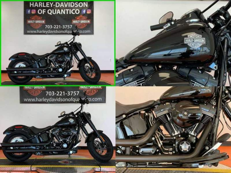 2017 Harley-Davidson Softail Slim S Vivid Black for sale craigslist photo
