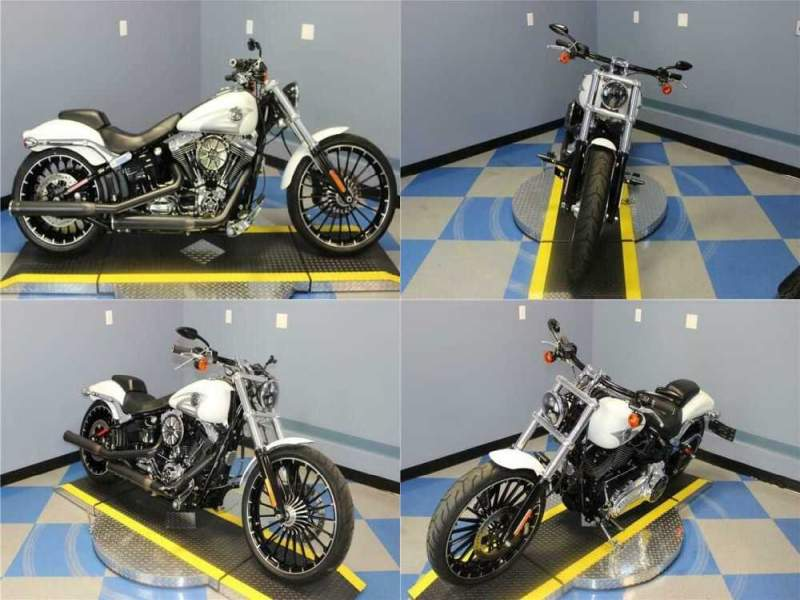 2017 Harley-Davidson Softail Breakout White for sale craigslist