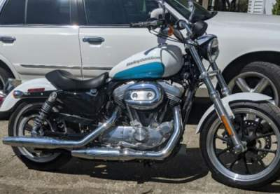 2017 Harley-Davidson Sportster Crushed Ice Pearl/Frosted Teal Pearl for sale craigslist