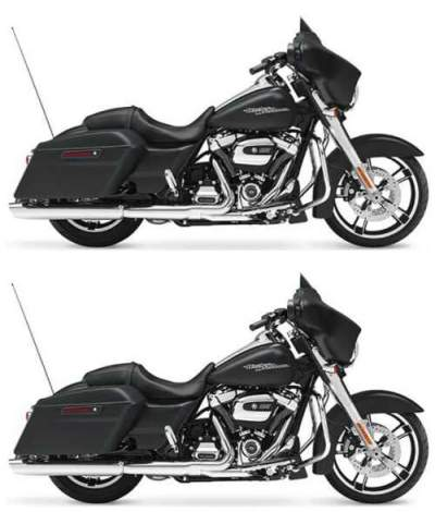 2017 Harley-Davidson Street Glide® Black for sale craigslist photo