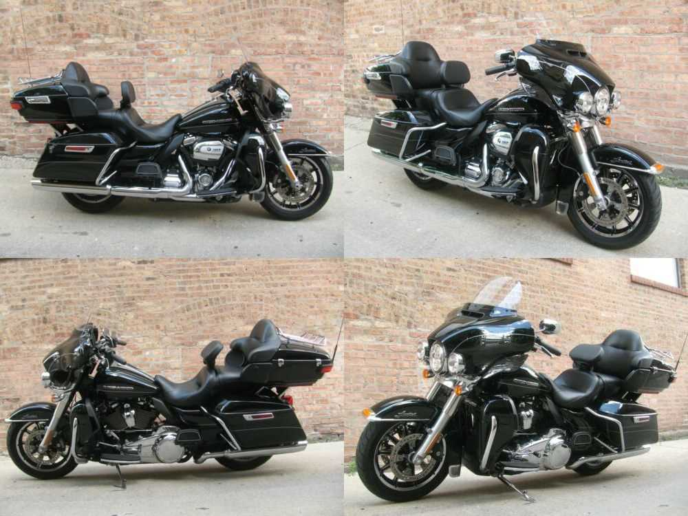 2017 Harley-Davidson Touring Black for sale craigslist photo