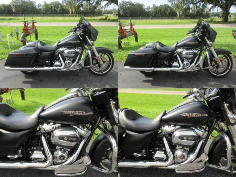 2017 Harley-Davidson Touring Street Glide™ Black for sale craigslist photo