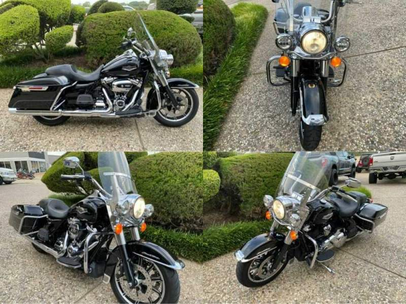 2017 Harley-Davidson Touring FLHR Black for sale