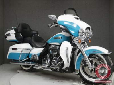 2017 Harley-Davidson Touring FLHTCU ELECTRA GLIDE ULTRA CLASSIC WABS CRUSHED ICE PEARL/FROSTED TEAL PEARL for sale craigslist