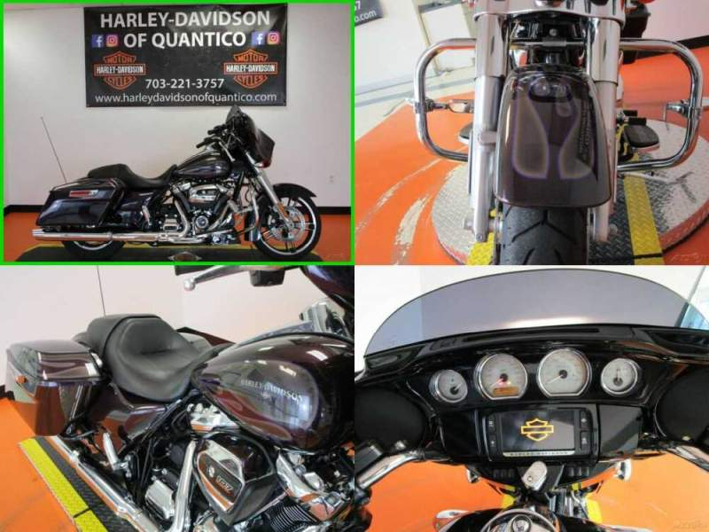 2017 Harley-Davidson Touring Special Hard Candy Mysterious Purple Flake for sale