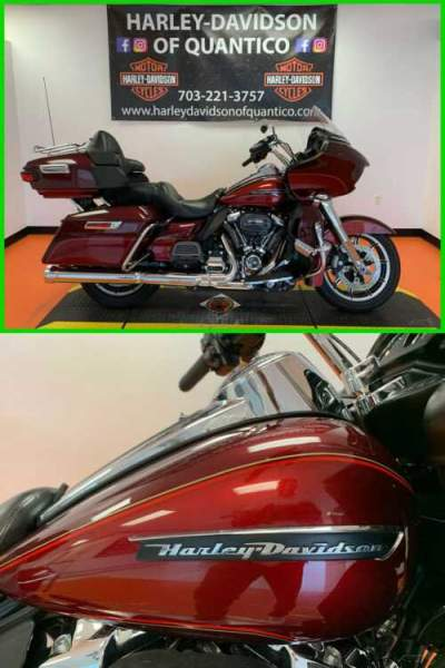 2017 Harley-Davidson Touring Road Glide Ultra Mysterious Red Sunglo / Velocity Red Sunglo for sale