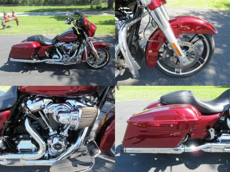 2017 Harley-Davidson Touring Street Glide® Special Red for sale