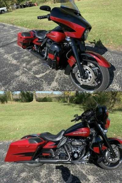 2017 Harley-Davidson Touring Red for sale craigslist photo