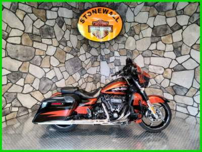 2017 Harley-Davidson Touring CVO Street Glide Sunburst Orange / Starfire Black for sale