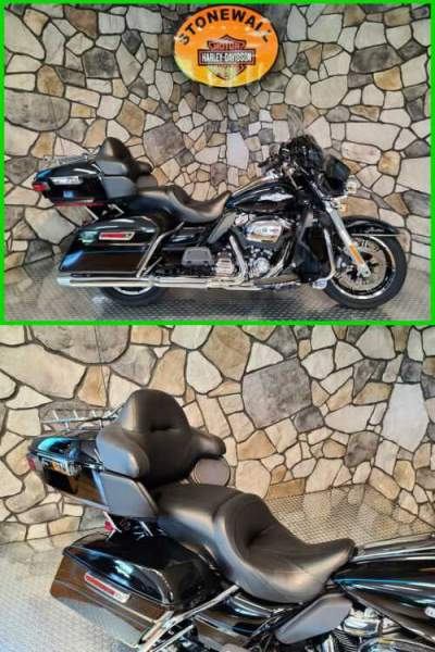 2017 Harley-Davidson Touring Vivid Black (Peace Officer Special Edition) for sale