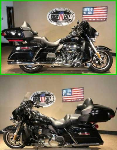 2017 Harley-Davidson Touring Electra Glide® Ultra Classic® Vivid Black for sale craigslist photo