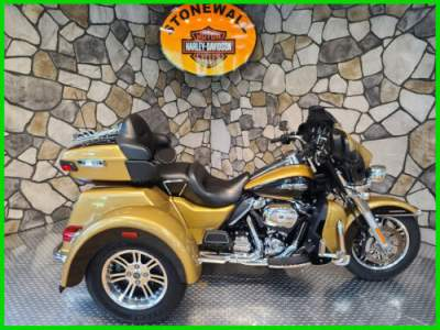 2017 Harley-Davidson Trike Tri Glide Ultra Black Hills Gold / Black Quartz for sale craigslist