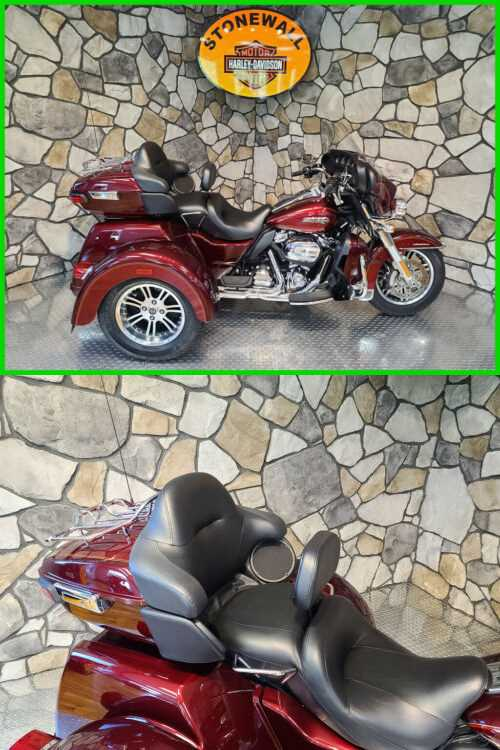 2017 Harley-Davidson Trike Tri Glide Ultra Mysterious Red Sunglo / Velocity Red Sunglo for sale craigslist