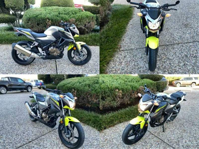 2017 Honda CB300FA Gray for sale craigslist photo