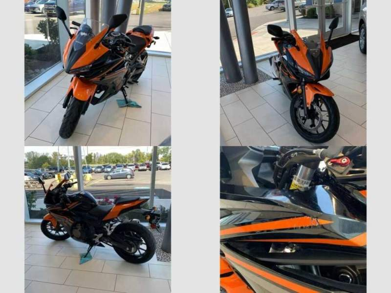 2017 Honda CBR Orange for sale craigslist photo