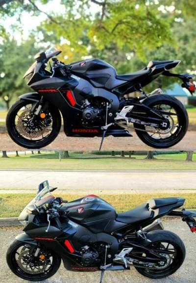 2017 Honda CBR Satin Black for sale craigslist photo