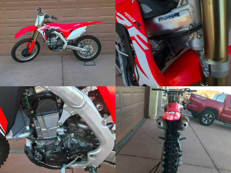 2017 Honda CRF  for sale craigslist photo