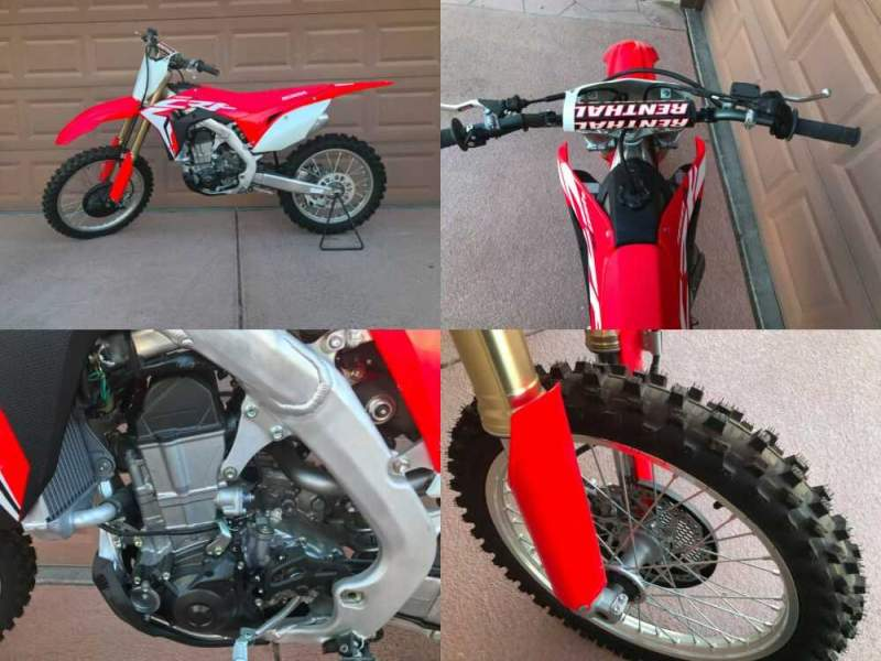 2017 Honda CRF Red for sale craigslist photo