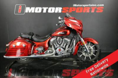 2017 Indian Chieftain Elite Fireglow Red Candy w/ Marble Accen Red for sale
