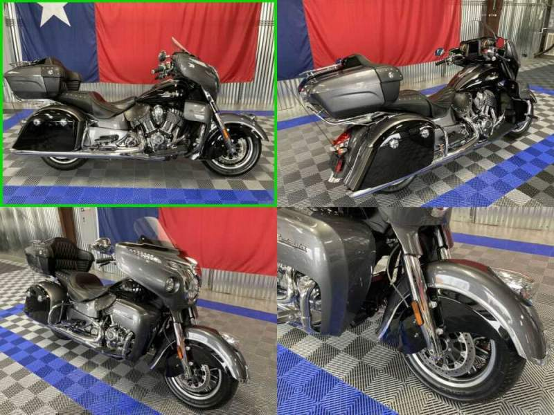 2017 Indian Roadmaster Silver/Black for sale craigslist photo