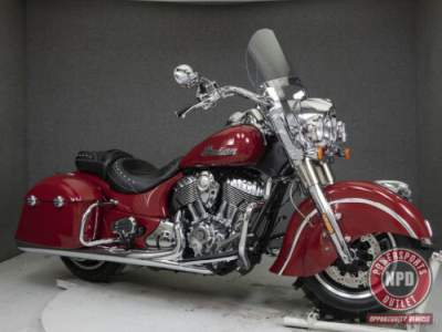 2017 Indian Springfield WABS INDIAN RED for sale