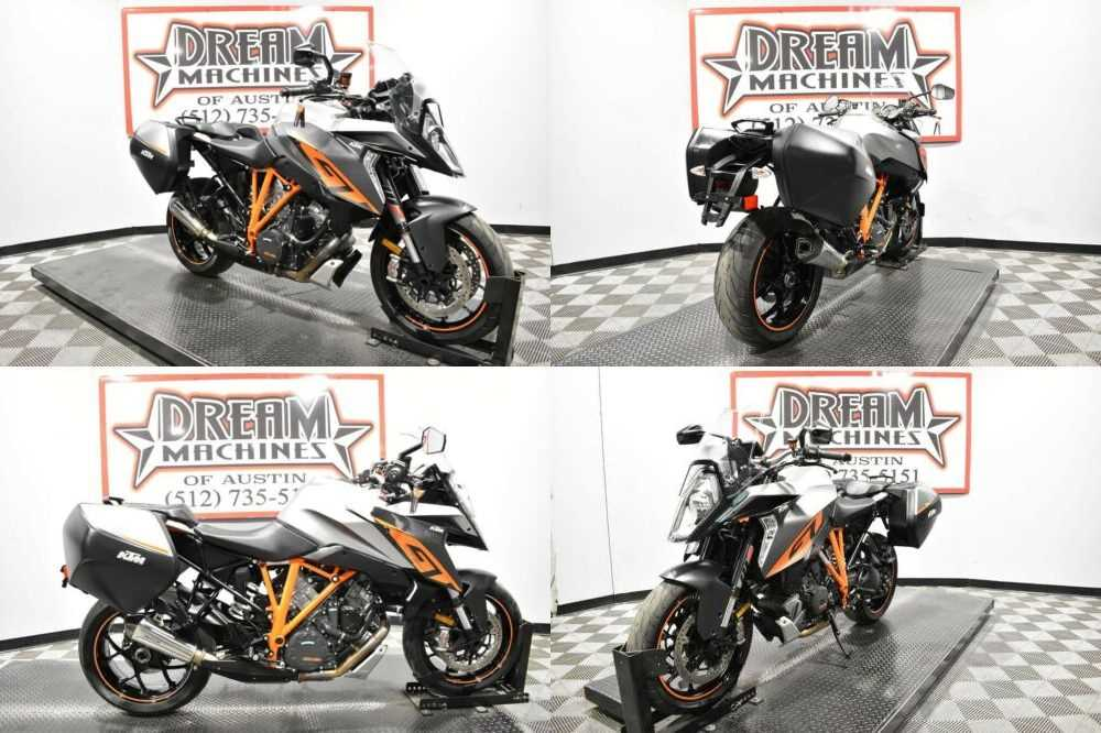 2017 KTM 1290 Super Duke GT Silver for sale craigslist photo