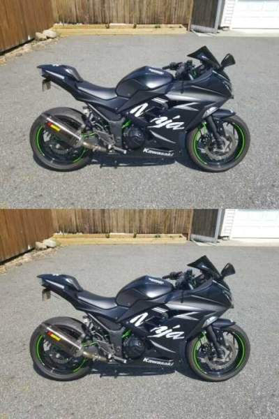 2017 Kawasaki Ninja Black for sale craigslist photo