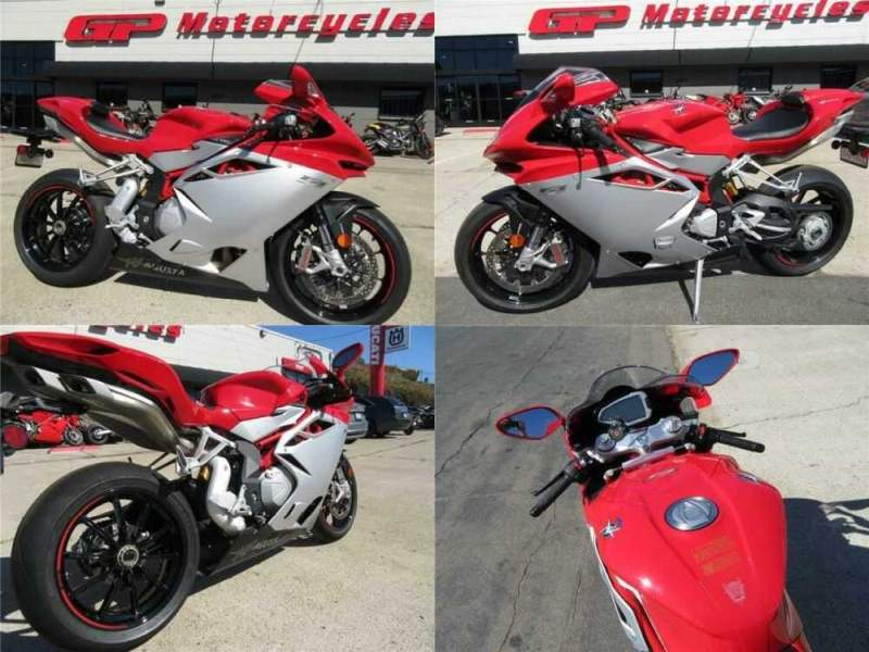 2017 MV Agusta F4 ABS Red for sale craigslist photo