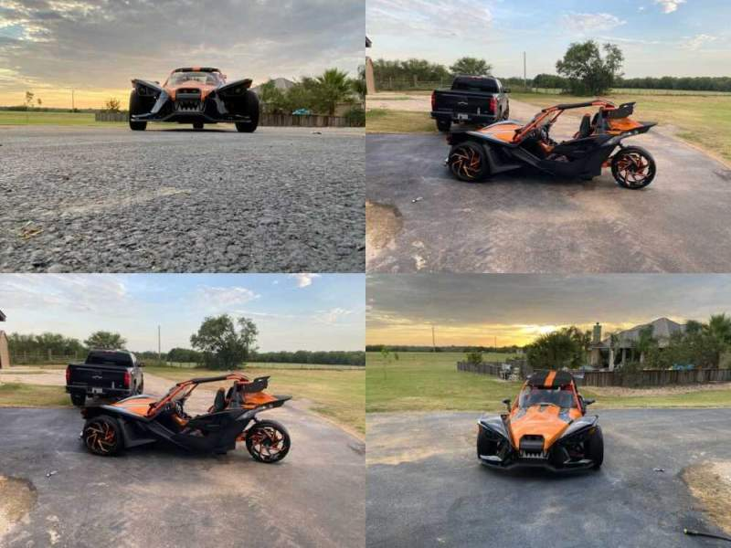 2017 Polaris SLR Orange & Black for sale craigslist photo