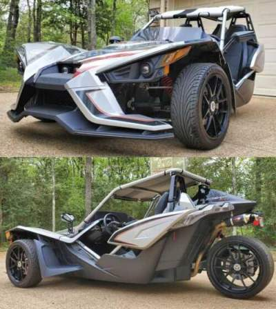 2017 Polaris Slingshot SLR Silver for sale craigslist