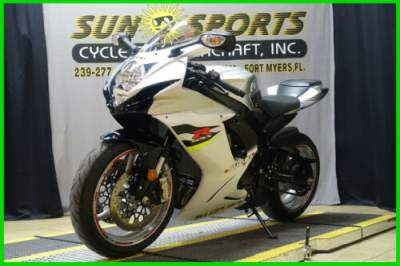 2017 Suzuki GSX-R600 Silver for sale
