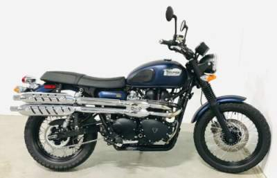 2017 Triumph Bonneville Blue for sale craigslist