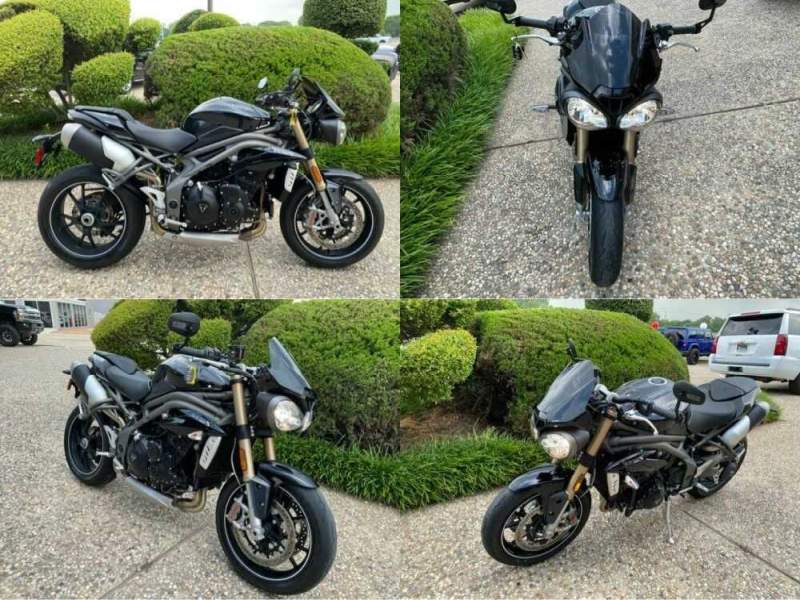 2017 Triumph Speed Triple S Black for sale craigslist photo