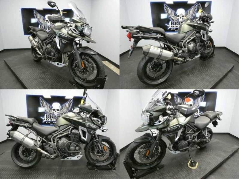 2017 Triumph Tiger Explorer XCA MattKhakiGreen Green for sale craigslist photo