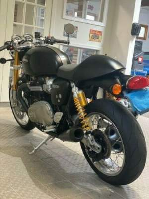 2017 Triumph thruxton 1200R satin black for sale craigslist photo