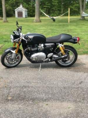 2017 Triumph thruxton 1200r matte black for sale craigslist