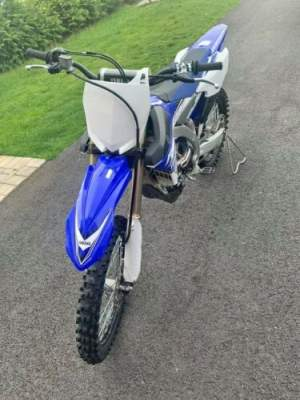 2017 Yamaha YZ Blue for sale craigslist photo