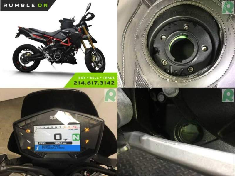 2018 Aprilia DORSODURO 900 CALL (877) 8-RUMBLE Black for sale craigslist