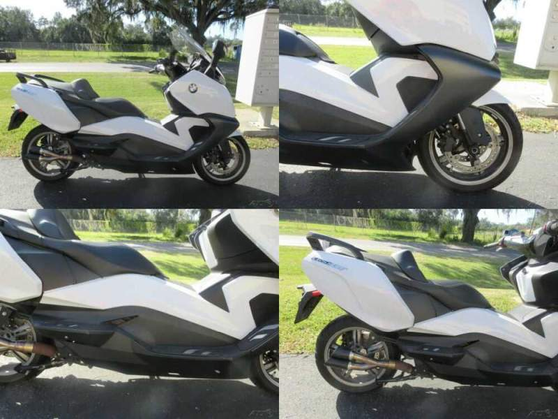 2018 BMW C 650 GT White for sale