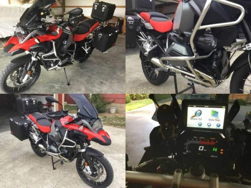 2018 BMW R-Series Red for sale craigslist photo